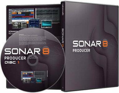 SOFTWARE SONAR PRODUCER 8