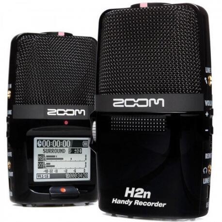 GRAVADOR ZOOM H2N RECORDER BK