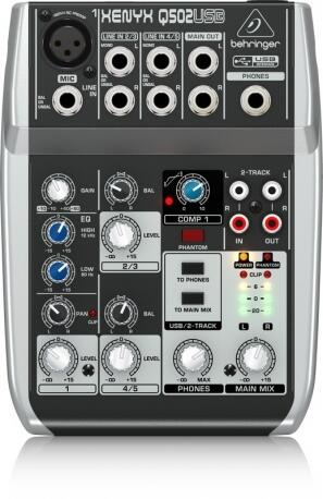 MIXER 05C BEHRINGER XENYX-Q502 USB 6074