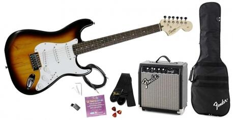 KIT GUITARRA FENDER SQUIER/CUBO 030 1812 032