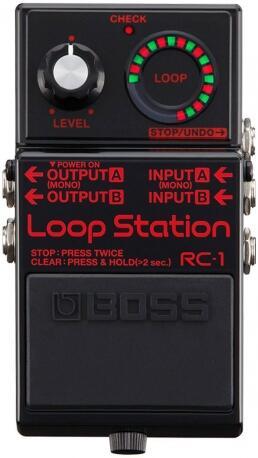 PEDAL BOSS RC-1 BLACK