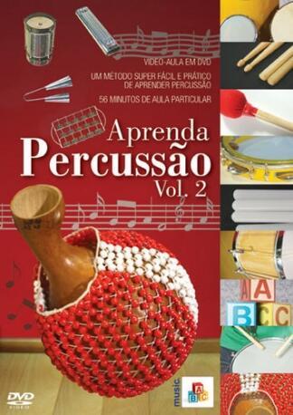 DVD ABC PERCUSSAO VOL 2