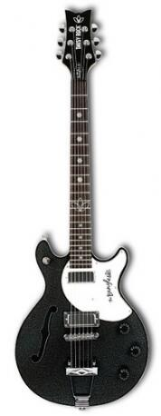 GUITARRA DAISY ROCK METALLIC BK BANGLES SIGNATURE