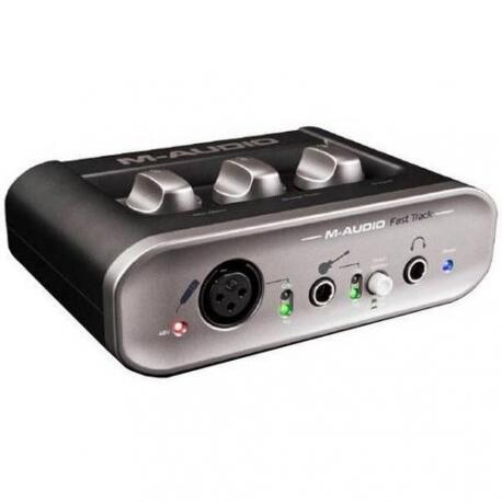 INTERFACE M-AUDIO FAST TRACK II